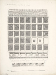 Sojali: Perforated screen from the tomb at,